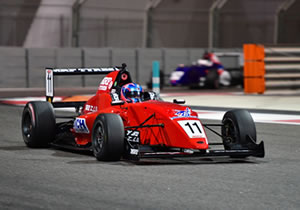 DRUGOVICH BEATS FALCHERO TO POLE POSITION IN MRF CHALLENGE 2017 IN ABU DHABI