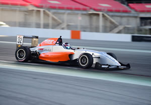 PRESLEY MARTONO FASTEST IN TIGHT PRACTICE SESSION IN MRF CHALLENGE 2017 IN DUBAI