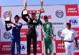2017 MRF CHAMPION FELIPE DRUGOVICH SIGNS OFF WITH TWO WINS IN CHENNAI